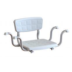 Sedile da vasca con schienale|Sedile da vasca con schienale