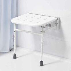 Sedile doccia da parete - ribaltabile|Sedile doccia da parete - ribaltabile|Sedile doccia da parete - ribaltabile