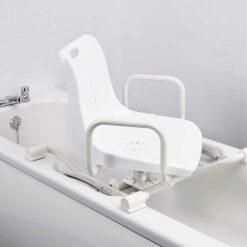 Sedile girevole per vasca da bagno - larghezza regolabile