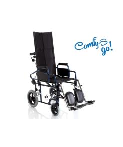 Moretti  carrozzina pieghevole di transito – con schienale prolungato comfy-s go!